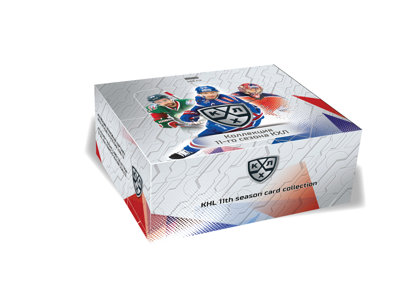KHL 11TH SEASON CARD COLLECTION 2018/19