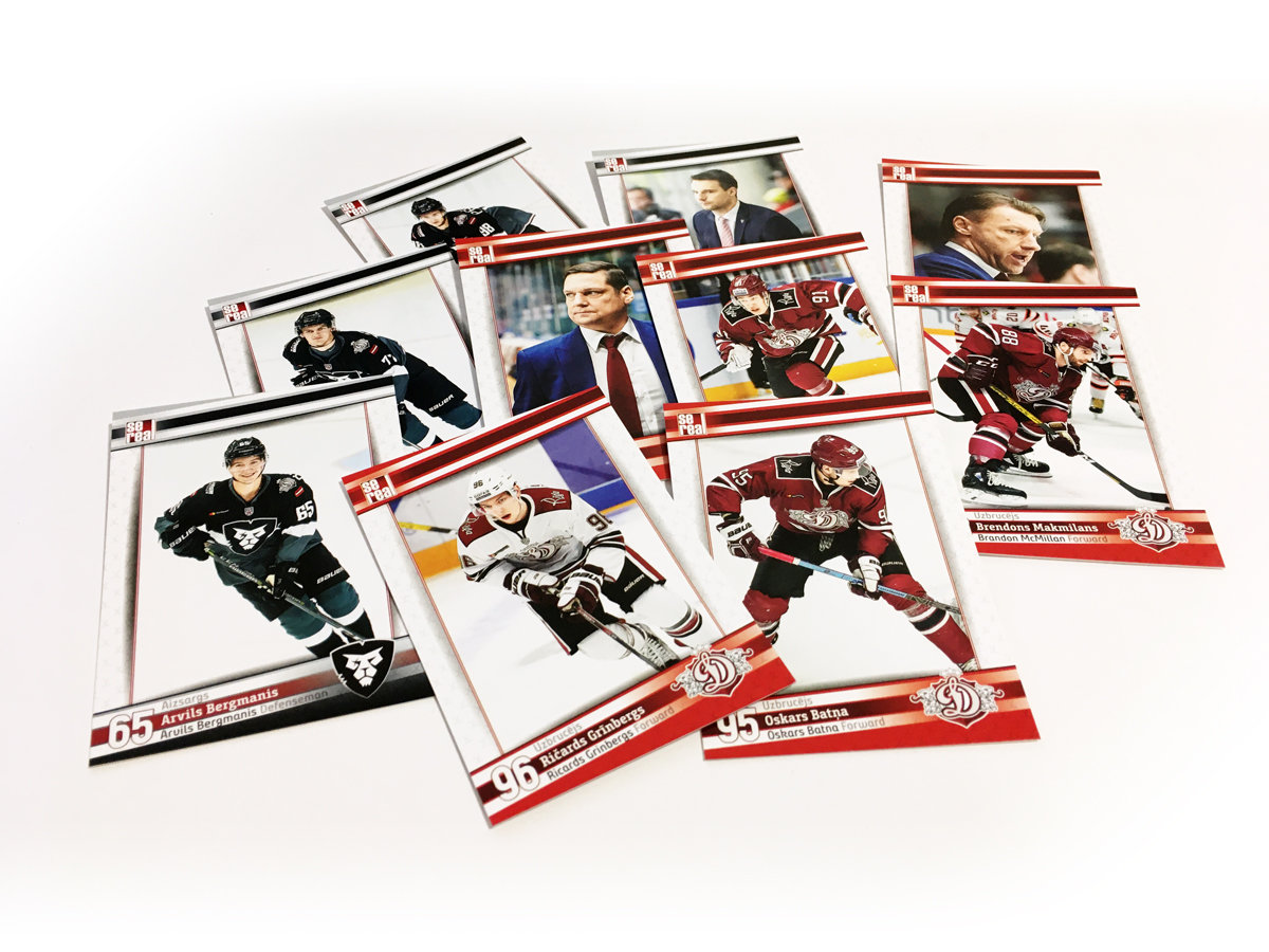 "2 BOXES DINAMO RIGA 2019""---- 40 packs"